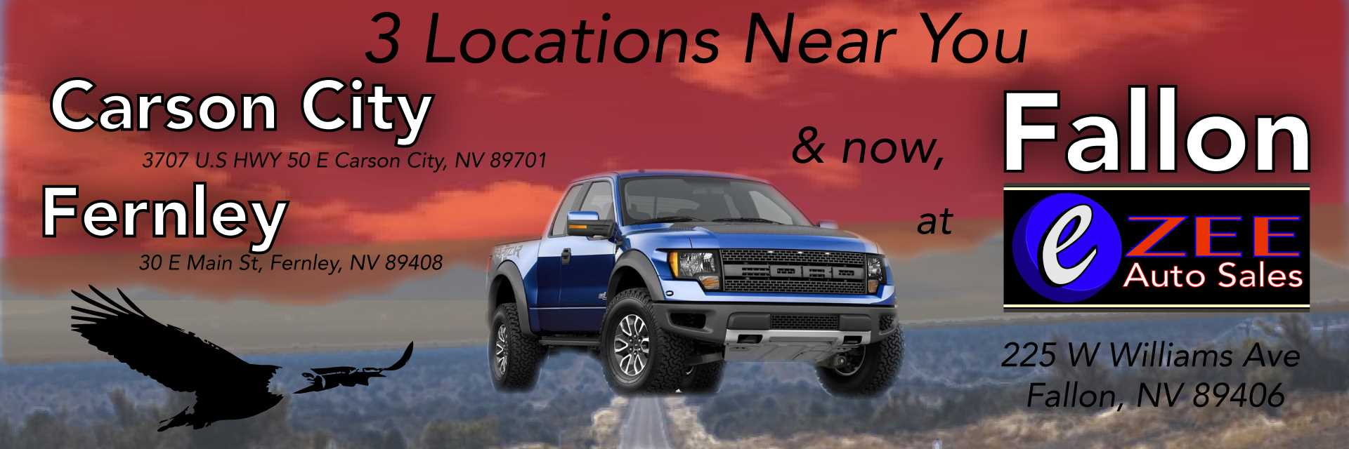 Eagle Valley Motors Carson City Nv New Used Cars Trucks Sales Dayton Home Page